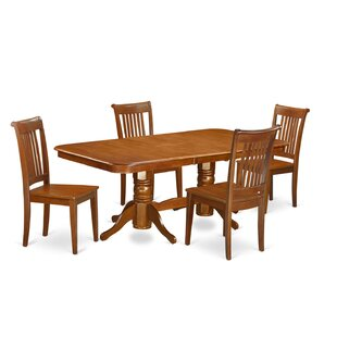 Naport 5 Piece Dining Set East West Furniture