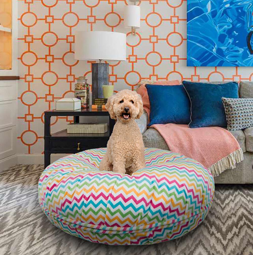 Tucker Murphy Pet Kenwood Bed Ocean Wave Doughnut Wayfair
