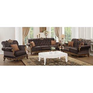 Mapleville 3 Piece Living Room Set