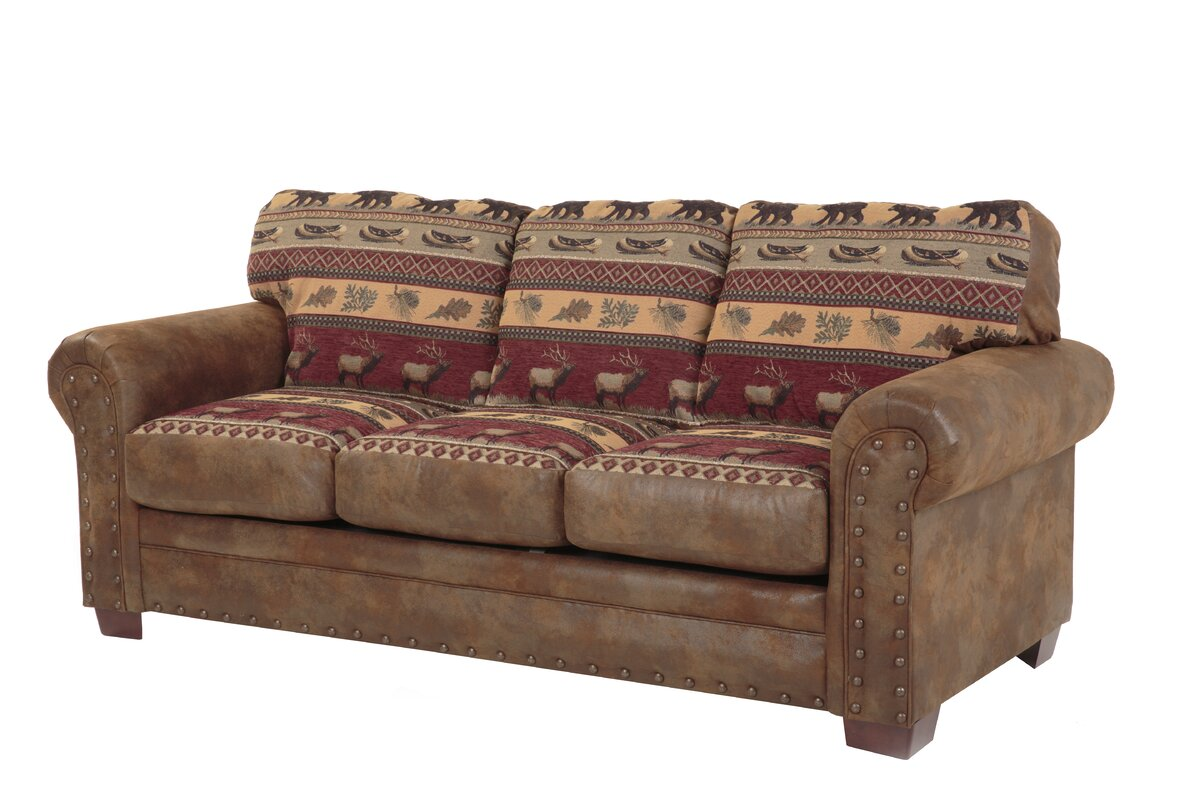 Rustic Sofas Youll Love Wayfair