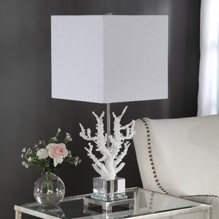 Genial Coral Table Lamp   Wayfair