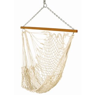 Bungalow Rose Dionisio Single Cotton Rope Chair Hammock