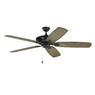 Affordable Whisenant 60 Colony Super Max 5 Blade LED Ceiling Fan with Remote By Ophelia & Co.