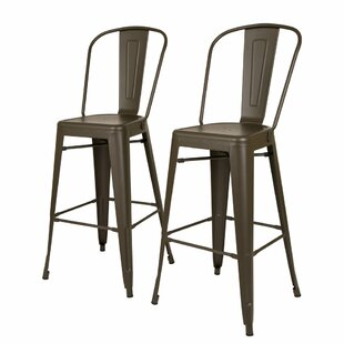 Lissa 30 Bar Stool (Set of 2) Williston Forge