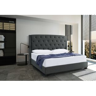 Upholstered Panel Bed by Brady Home