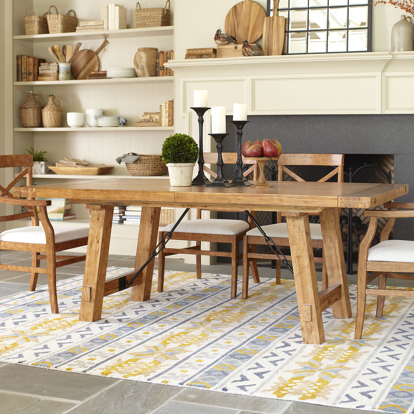 Birch lane mansfield extendable dining table reviews birch lane workwithnaturefo
