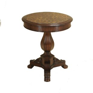 Webster Marquetry End Table by Maitland-S..