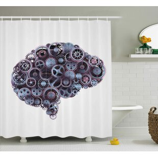 Industrial Decor Shower Curtain