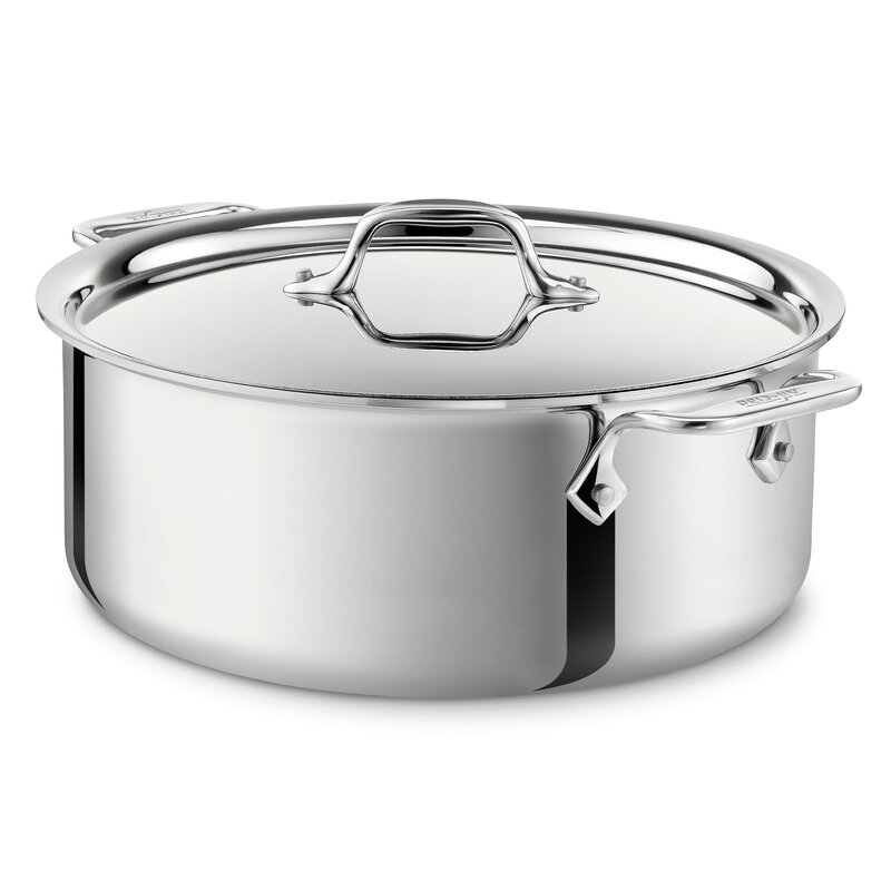 All-Clad D3 Stock Pot with Lid