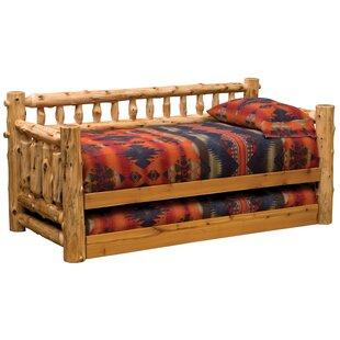 Traditional Cedar Log Daybed by Fireside Lodge Savings