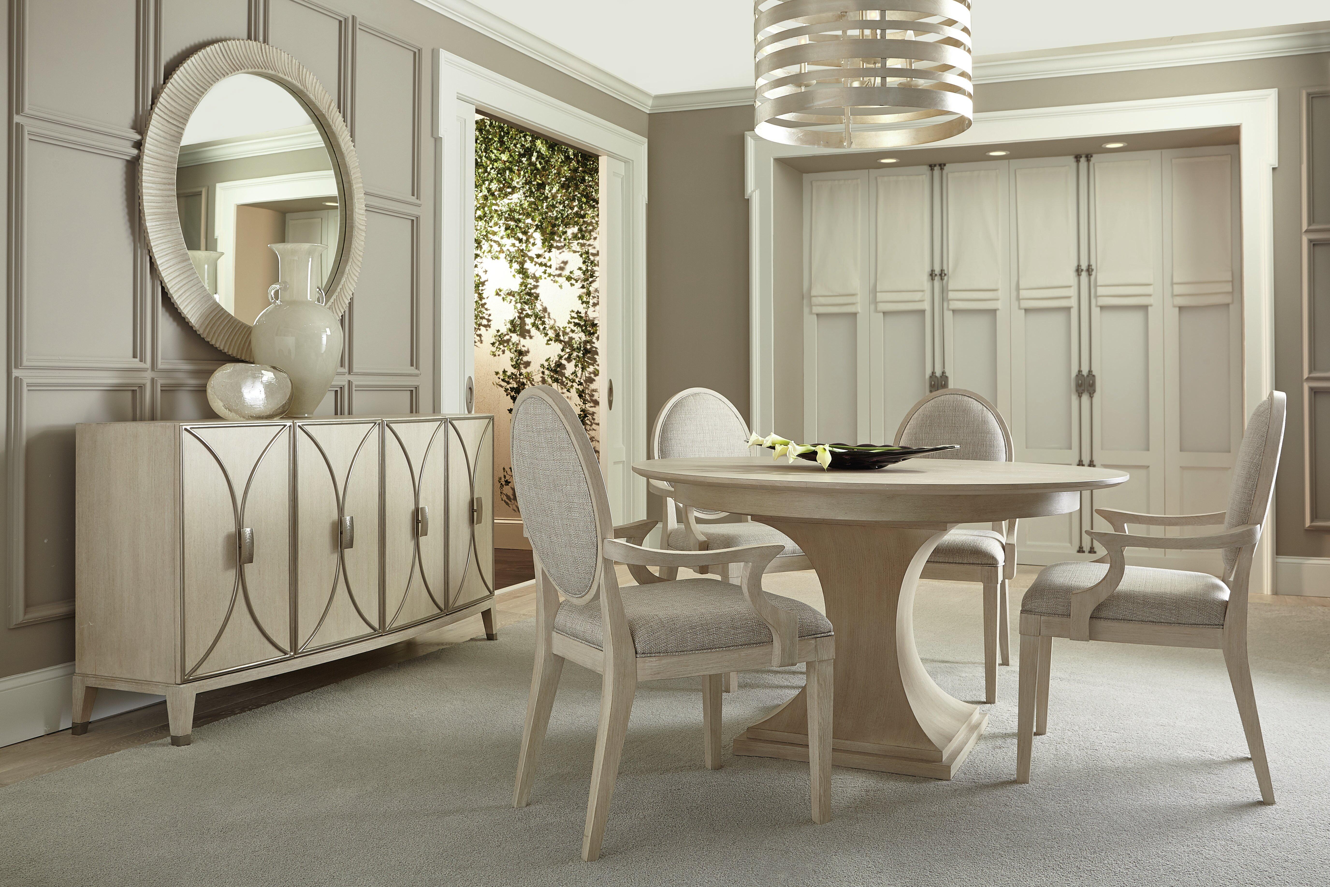Bernhardt East Hampton 5 Piece Extendable Dining Set Perigold