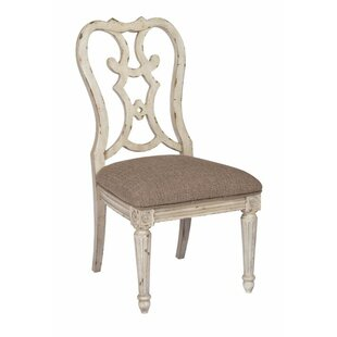 Dicha Dining Side Chair by Ophelia & Co.