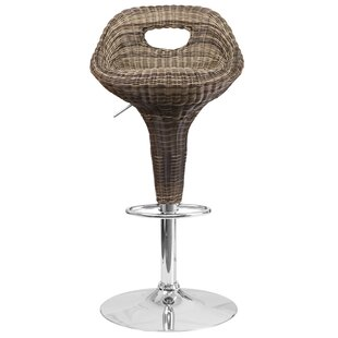 Aqueduct Adjustable Height Swivel Bar Stool