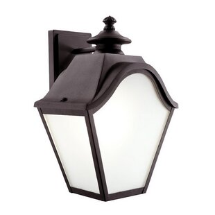 Charlton Home Spillman 2-Light Outdoor Wall Lantern