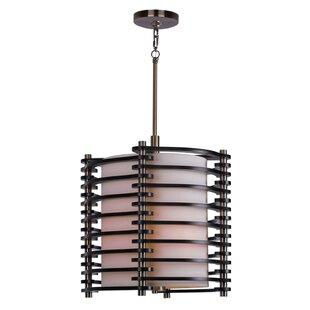 Woodbridge Lighting Steps 3-Light Geometric Pendant