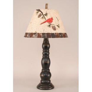 Rustic Living Big 4 Ring 31 Table Lamp