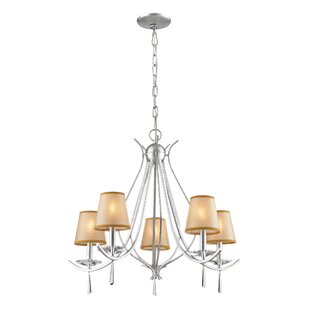 Harkness 5-Light Shaded Chandelier by Mercer41