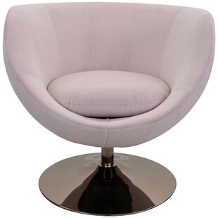 Steinman Swivel Barrel Chair by Latitude Run