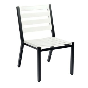 Palm Coast Slat Stacking Patio Dining Chair