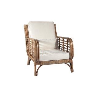 Ibolili Square Back Rattan Chair