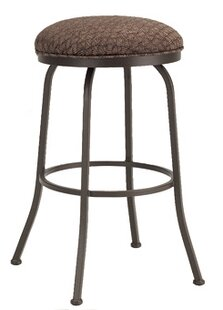 Huebner Swivel Bar  Counter Stool by Red Barrel Studio