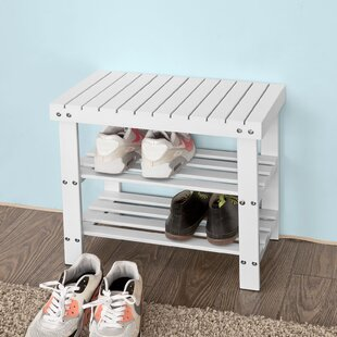 4 Pair Shoe Storage Bench By Brambly Cottage