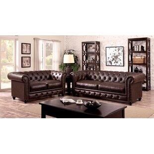 Dorazio 3 Piece Living Room Set