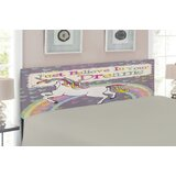 Teen Upholstered Panel Headboard by East Urban Home