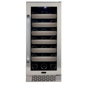 33 Bottle Elite Series Single Zone Convertible Wine Cooler by Whynter