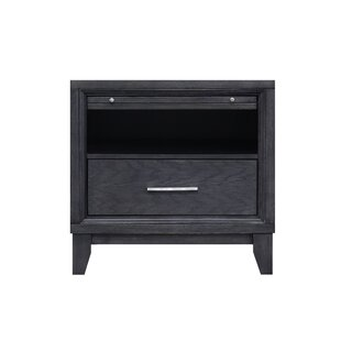 Chelsea 1 Drawer Nightstand by Home Image