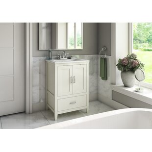 Crist Freestanding Style 24 Single Sink Bathroom Vanity Set by Charlton Home