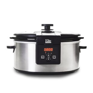 Platinum 6 Qt. Stainless Steel Programmable Slow Cooker