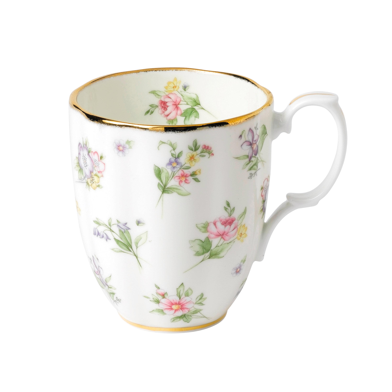 14.1 oz Royal Albert 100 Years 1940 Mug Multicolor