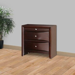 Teart 2 Drawer Nightstand by Latitude Run