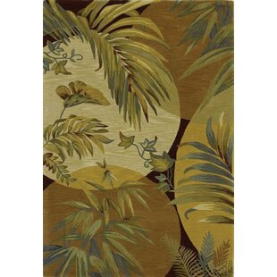 Murray Breezes Coral/Ivory Area Rug by Bay Isle Home