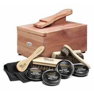 Woodlore Shoe Care Valet with Starter Kit..