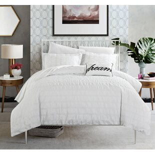 Agee 100% Cotton 4 Piece Duvet Cover Set