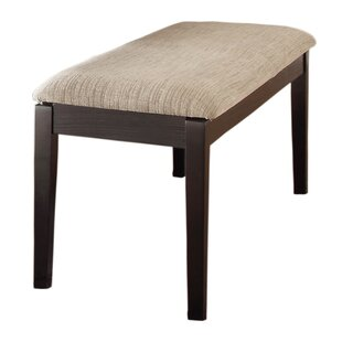 Leonor Upholstered Bench by Latitude Run