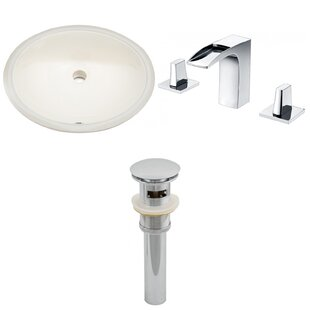 Searching for CUPC Ceramic Oval Undermount Bathroom Sink with Faucet and Overflow By Royal Purple Bath Kitchen