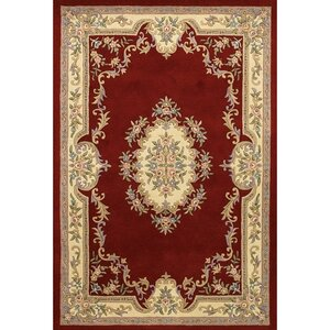 Wenger Red Area Rug