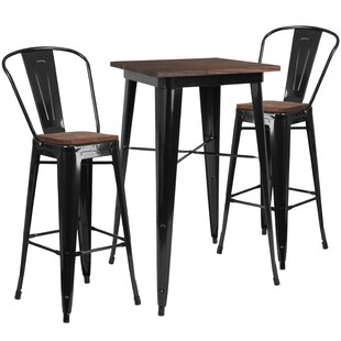 Preble 3 Piece Pub Table Set by Williston Forge
