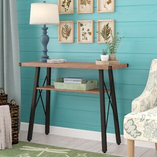 Wisteria Contemporary 2-Tier Console Table