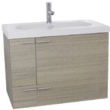 Urbain 31 Wall-Mounted Single Bathroom Vanity Set by Orren Ellis