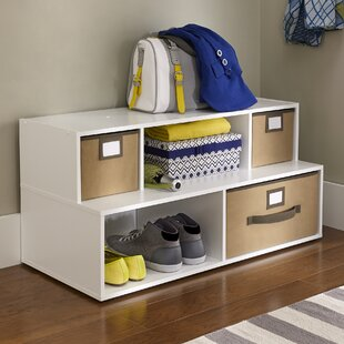 2-Tier and 5-Compartment Shoe Rack