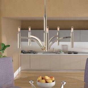 Orren Ellis Manasi 5-Light Candle Style C..