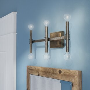 Great Price Deller 6-Light Vanity Light By Union Rustic
