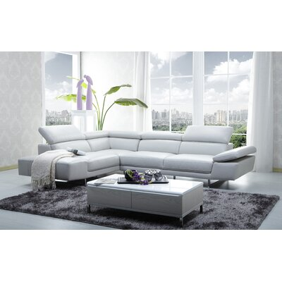Leather Sectional Sofas You Ll Love In 2020 Wayfair