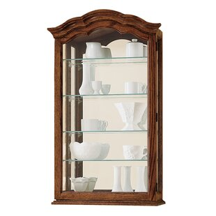 Darby Home Co Brammer Wall-Mounted Curio Cabinet