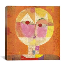 Senecio' by Paul Klee Painting Print on Painting Wrapped Canvas