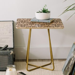 Online Reviews Holli Zollinger Thistle End Table by East Urban Home